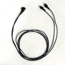 SIEMENS Black 2 Pin V Cord