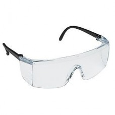 3M 1709 Stingrays Hard Coated Safety Glasses, Lens Color: Clear