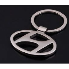 Abel 3d Hyundai Metal Chrome Key Chain Ring