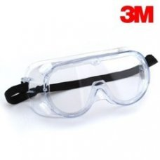 3M Chemical Splash Guard Goggles, Lens Color: Clear, 1621