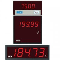 MECO 0-5 Amp DC 4 1/2 Digit Ammeter And Voltmeter, SMP14445S