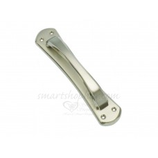 SmartShophar Brass Plate Handle Stainless Steel 8 Inches Clover