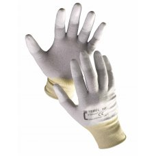 CERVA Knitted Antistatic Seamless Nylon Gloves