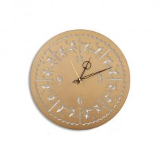 Laser Venue Tribal Antique Round Shaped Designer Wall Clock, TL14025