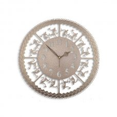 Laser Venue Tribal Antique Round Shaped Designer Wall Clock, TL14005