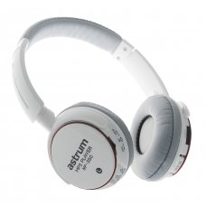 ASTRUM Headset Music Player Micro SD FM, MP-350 WH