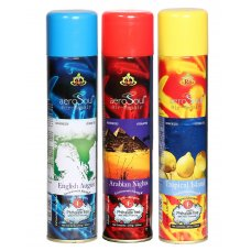 Aerosoul Mega Pack of English August, Arabian Nights & Tropical Island Room Air Freshener Aqua, R/AS/AFW/EAANTI/3