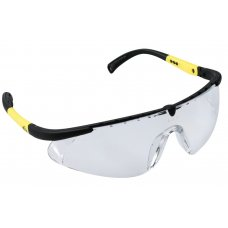 iSpector Sport Look Safety Glasses with PC Lens, Vernon, Lens Color: Clear