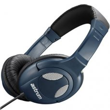 ASTRUM Headset and Wired Mic Bass Blue, RAGA BEAT BL