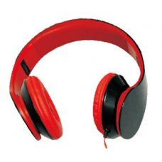 ASTRUM Headset Fashion UV Black and Red, RAGA BLAST BK