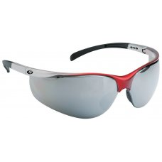 iSpector Sport Look Safety Glasses with Clear PC Lens, Rozelle, Lens Color: Smoke