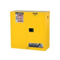 JUSTRITE Manual Closing Safety Cabinet