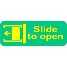 Acme Slide To Open Sign