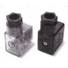 Amatic 1/4 Inch ACL-02 Valve Spare Coil With LED Socket For AM Series Solenoid Valves