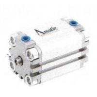 Amatic 80 mm AS Series Standard Double Action Cylinder 80 mm Stroke