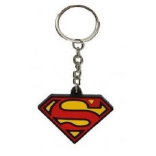 Abel Rinsed Rubber Super Man Key Chain