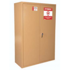 Sysbel Emergency Equipment Cabinet (PPE Cabinet), WA910450, Capacity: 45 Gal / 170 L, Style Name: 2 Door Manual, Item Weight: 54 kg