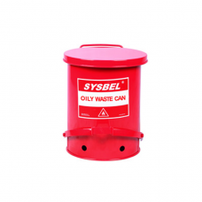 Sysbel Oily Waste Cans