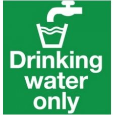 Aktion Sign Of Drinking Water
