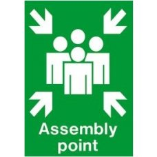 Aktion Sign Of Assembly Points