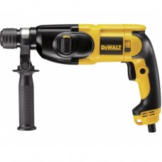 Dewalt SDS Plus Combination Hammers, D25013K- 22 mm 3 mode Combi Hammer, Output Power 650 W, Speed 0-1550 RPM, Item Weight 2.3 kg