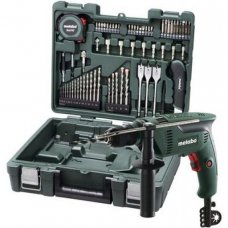 Metabo Mobile Workshop with Impact Drill, SBE 601, 600 W, 0-2800 RPM, 1.5-13 mm