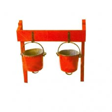 AFS Fire Bucket Stand, Capacity : 2 buckets