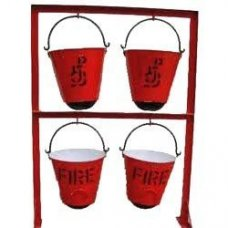 AFS Fire Bucket Stand, Capacity : 4 buckets