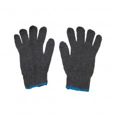 Camron Safety Knitted Hand Gloves, Color: Grey, Item Weight: 70 gms