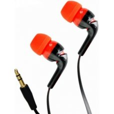 ASTRUM Earbud Stele Hifi Black and Red, EB-153S BK