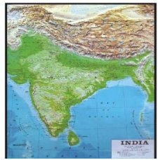 CSI 3D Raised Relief Plastic Model/Maps Maharashtra(Best Bg), 3D108