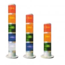Ideal Flasher And Steady Multi Layer Tower Light Without Buzzer, ID-502-W, 1 Layer