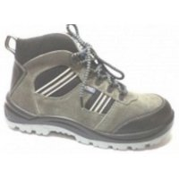 Allen Cooper Buff Suede Safety Shoes, AC 1157