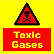 Acme Toxic Gases Sign