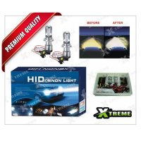 Xtreme CAR HID Xenon Kit High/low Beam H4 8000K Type With Slim Ballast For Skoda Laura