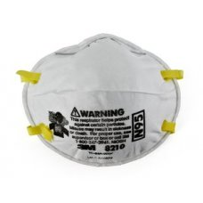 3M Particulate Respirator Mask, 8210, Cup Type, Filter Class: N95, White