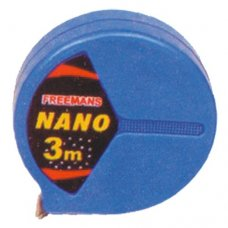 Freemans NANO Steel Tape Rules Without Lock