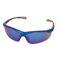 iSpector Optical Class 1 Sport Look Glasses with Polycarbonate Lens, Nellore, Mirror Blue