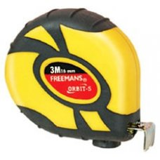 Freemans ORBIT-S Steel Tape Rules, OBS, 3 meter