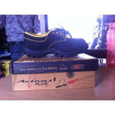 Active Plus PVC Steel Toe Safety Shoe