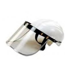 Prime Blue Safety Helmet With Face Shield