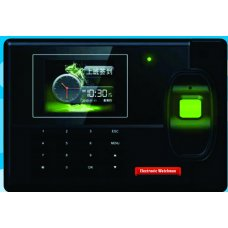 Electronic Watchman Color Screen Attendance Recorder with Finger+Card+Battery, SR 522