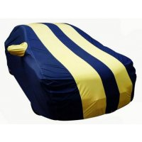 Autofurnish Stylish Yellow Stripe Car Body Cover For Mercedes Benz S 350