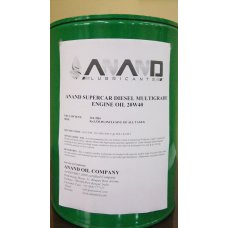 ANAND 20 Litre Edl2 And Epl2 Supercar Diesel Multigrade Engine Oil 20W40