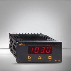 SELEC 85-270 volt AC / DC Panel Mounted Time Measuring Instruments, TI103C