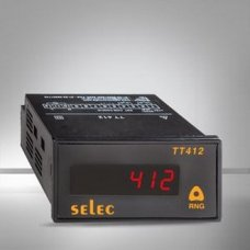 SELEC 85-270 volt AC / DC Panel Mounted Time Measuring Instruments, TT412