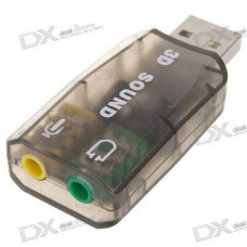 Moelissa USB Sound Card 3D Virtual 5.1, AD-SD-5.1
