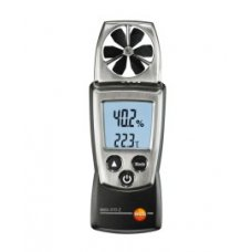 Testo Vane Anemometer With Humidity Measurement, 410-2