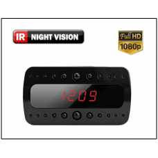 Action India - Spy Motion Activated Mini Clock Hidden Camera Night Vision 1080hd