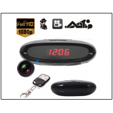Action India -Spy HD 1080P Spy Hidden Camera Clock Remote Motion Detection Mini